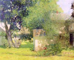 The Carroll Price Farm   Rae Sloan Bredin   Oil Painting