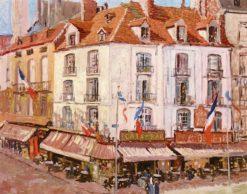Montmartre | Walter Elmer Schofield | Oil Painting
