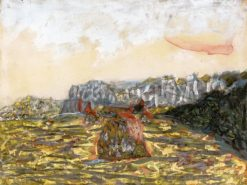Landscape with Haystacks | Pierre Bonnard | Oil Painting