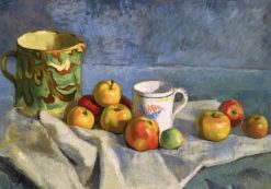 Still Life with Apples and Breton Pots | Emile Bernard | Oil Painting