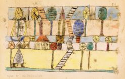 The Village Madwoman | Paul Klee | Oil Painting