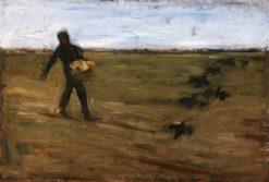 Sower (study) | Max Liebermann | Oil Painting
