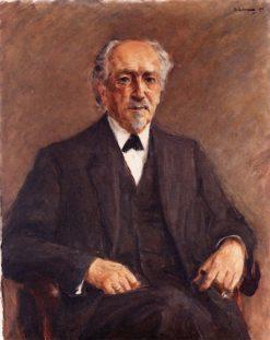 Portrait of Prof. Benno Erdmann | Max Liebermann | Oil Painting