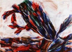 Cactus Blossom   Christian Rohlfs   Oil Painting