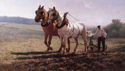 Plowing the Field | Rosa Bonheur | Oil Painting