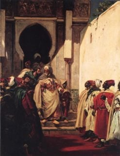 The Departure of the Pasha | Alfred Dehodencq | Oil Painting