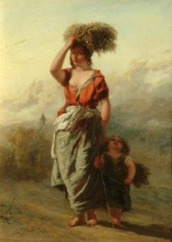 The Gleaner | Paul Falconer Poole | Oil Painting
