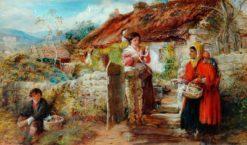 The Gypsy   Thomas Falcon Marshall   Oil Painting
