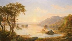 Lake George | Jasper Francis Cropsey | Oil Painting