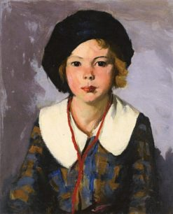 The Blue Tam | Robert Henri | Oil Painting