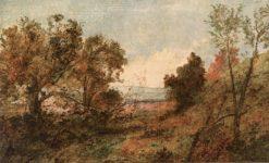 Autumn Landscape   Jasper Francis Cropsey   Oil Painting