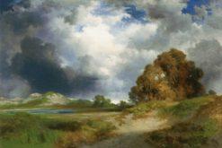 East Hampton   Thomas Moran   Oil Painting