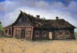 House Where I Was Born | Yehuda Pen | Oil Painting