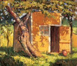 Van Antwerp Place | Grant Wood | Oil Painting