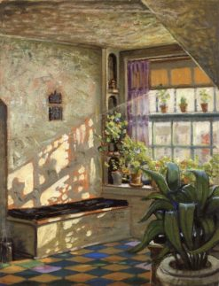 Sunlit Studio | Grant Wood | Oil Painting