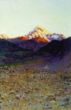 In the Mountains | Vasily Vasilevich Vereshchagin | Oil Painting