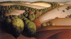 Near Sundown | Grant Wood | Oil Painting