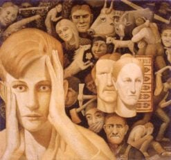 In Tragic Life | Grant Wood | Oil Painting
