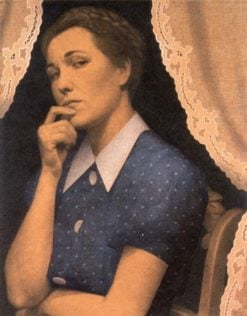 The Perfectionist | Grant Wood | Oil Painting