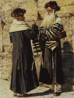Two Jews | Vasily Vasilevich Vereshchagin | Oil Painting