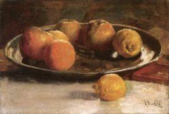 Still Life with Fruit | Marc-Aurele de Foy Suzor-Cote | Oil Painting