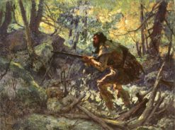 The Courier de Bois | Marc-Aurele de Foy Suzor-Cote | Oil Painting