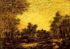 The Enchanted Forest | Ralph Albert Blakelock | Oil Painting
