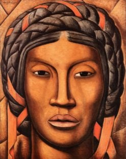 La India de Tehuantepec (Mujer de Tehuantepec (also known as Indian Woman from Tehuantepec) | Alfredo Ramos Martinez | Oil Painting