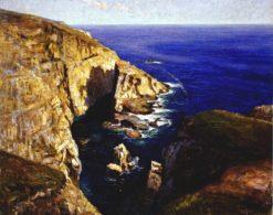 Coastal View   Mikhail Tkachenko   Oil Painting