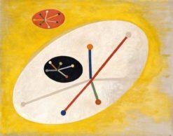 Leuk 5   László Moholy-Nagy   Oil Painting