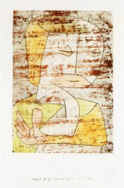 As Time Passes by | Paul Klee | Oil Painting