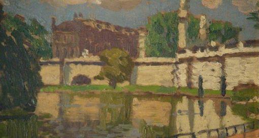 Landscape | Edward Morland Lewis | Oil Painting