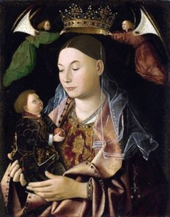 Madonna with Child | Antonello da Messina | Oil Painting