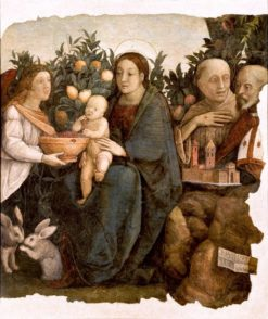 Madonna with Child and Saints Quirinus and Francis | Correggio | Oil Painting