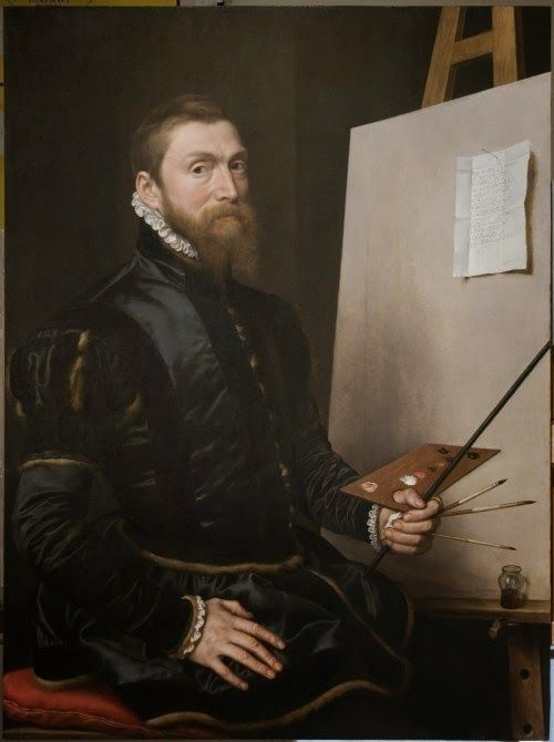 Self-Portrait | Anthonis Mor van Dashorst | Oil Painting