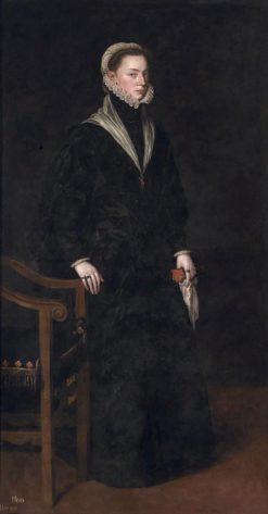 La infanta Juana de Austria | Anthonis Mor van Dashorst | Oil Painting