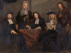 The Regents of the Spinhuis and Nieuwe Werkhuis | Arnold Boonen | Oil Painting