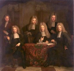 Regents of the Lepers House | Arnold Boonen | Oil Painting