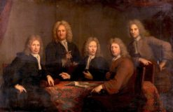 The Overseers of the Surgeons Guild | Arnold Boonen | Oil Painting