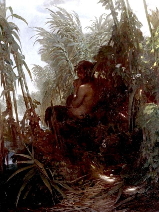 Pan in the Reeds | Arnold Böcklin | Oil Painting