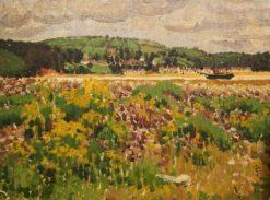 Welsh Landscape | Edward Morland Lewis | Oil Painting