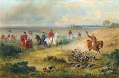 Coursing of the Duchy of Nassau in Lippspringe | Emil Adam | Oil Painting