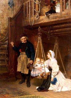 The Weighing | Albert Adamo | Oil Painting