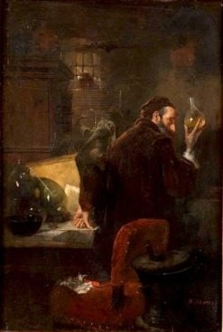 The Alchemist | Albert Adamo | Oil Painting