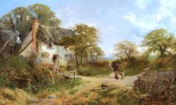Country Cottage | John Clayton Adams | Oil Painting