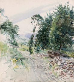 The Road   Giovanni Boldini   Oil Painting