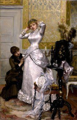 Dressing the Bride | Rudolf Ernst | Oil Painting