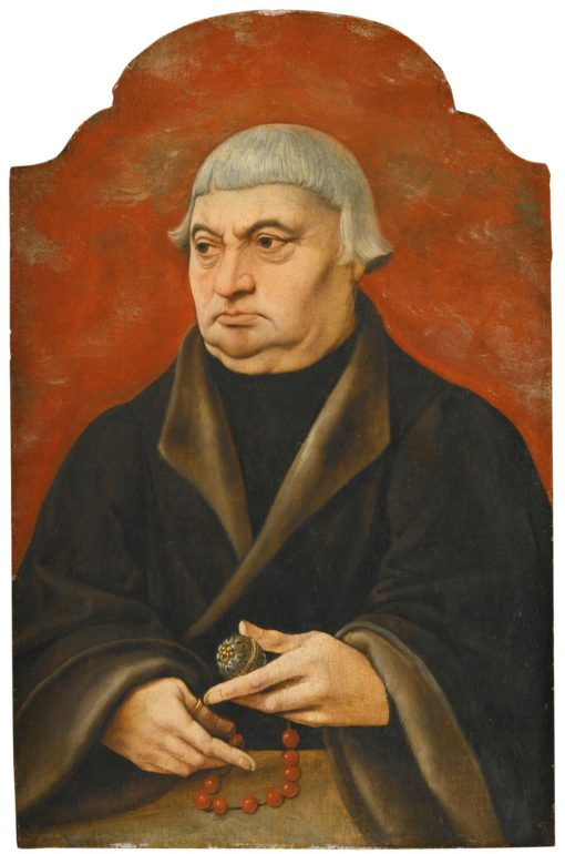 Portrait of a Cleric   German School th Century Unknown   Oil Painting