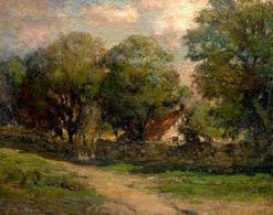 The Country Cottage | Charles P. Appel | Oil Painting