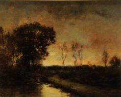 Late Sunset   Charles P. Appel   Oil Painting